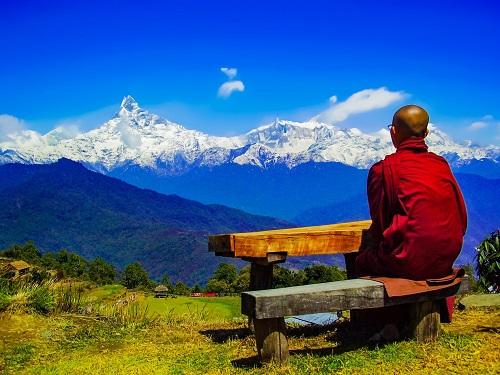 monjes tibetanos y abstinencia